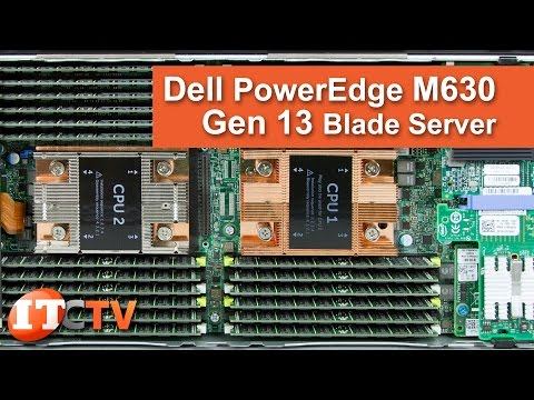 , title : 'Dell PowerEdge M630 Gen13 Server Blade Review'