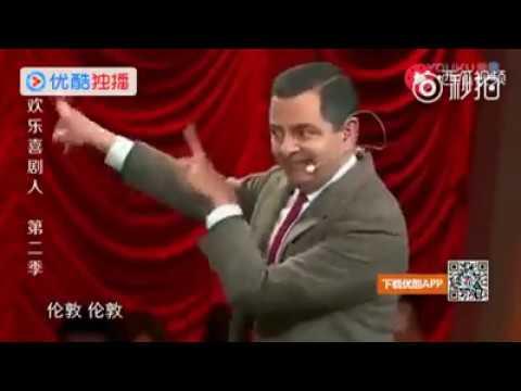 郭德纲欺负憨豆不懂中国话说他丑,结果憨豆...