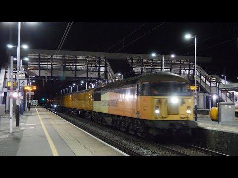 Colas 56087 & 56113 amble through Harpenden - 3Q20