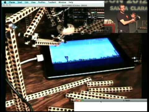 Image from Building a Robot that Can Play Angry Birds on a Smartphone, (or Robots are the Future of Testing)