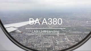 British Airways A380-800 | Los Angeles to London Medical emergency
