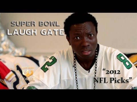 of Comedy Michael Blackson gives his NFL picks for the 2012-13 Season