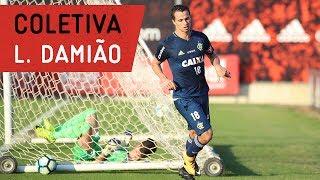 Leandro Damião concedeu entrevista coletiva no CT George Helal---------------Seja sócio-torcedor do Flamengo: http://bit.ly/1QtIgYl---------------Inscreva-se no canal oficial do Flamengo. Vídeos todos os dias.--- Subscribe at Flamengo channel, a 40-million-fans nation. Join us!