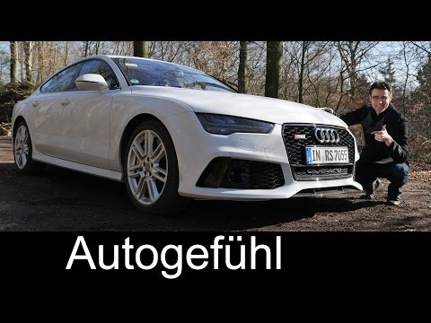 2016/2015 Audi RS7 Facelift quattro test drive full REVIEW 560 hp – Autogefühl