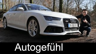 2016/2015 Audi RS7 Facelift Quattro Test Drive Full REVIEW 560 Hp - Autogefühl