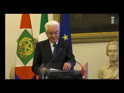 IL PRESIDENTE MATTARELLA INVERVIENE AL SUMMIT ACQUA E CLIMA
