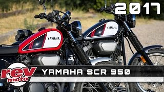 8. 2017 YAMAHA SCR 950 Review Rendered Price Specs Release Date