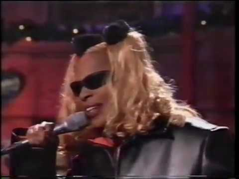 Mary J Blige - I'm Goin' Down - LIVE On Tonight Show With David Letterman - 90's