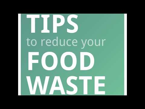 Tips to reduce food waste - 1