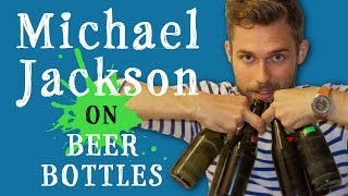 Amazing Michael Jackson Cover On Beer Bottles