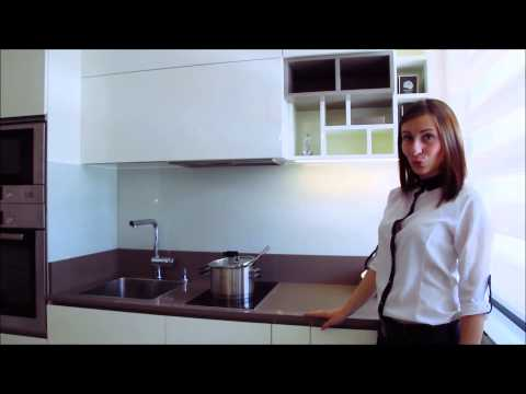 Zarra Design - Апартамент Трюфел - кухня, спалня и коридор