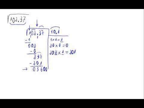 Vídeos Educativos.,Vídeos:Raíz cuadrada con decimales