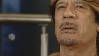 مقابلة للقذافي مع بي بي سي الإنجليزية