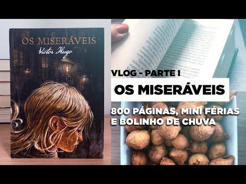 Vlog de Leitura OS MISERÁVEIS | Parte 1 |  BOOK GALAXY