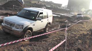 Land Rover Discovery 4 In Offroad 4x4 Trial A Lonato 15/01/2012