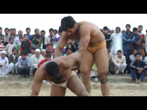 The number 1 wrestler of India, - Varun Vs Goonga ( the dumb)