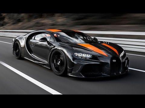 Bugatti Chiron удалось разогнаться почти до 500 км/ч