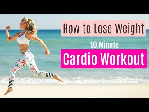 How to Lose Weight - CARDIO CALORIE BURN | Rebecca Louise (видео)