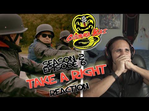 Cobra Kai Reaction Season 2 Episode 6 Cobra Kai Take a Right