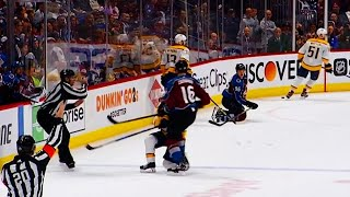 Zadorov hits down-and-out Ellis & receives 10-min misconduct by Sportsnet Canada