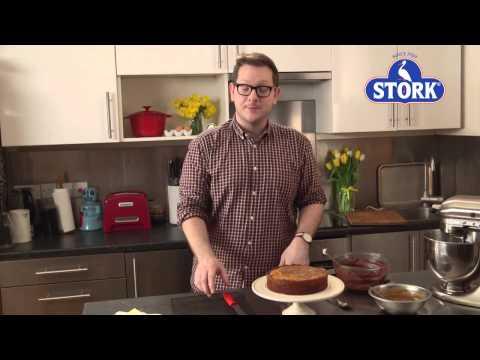 Edd Kimber's Chocolate Salted Caramel Marble Cake | Stork Recipes