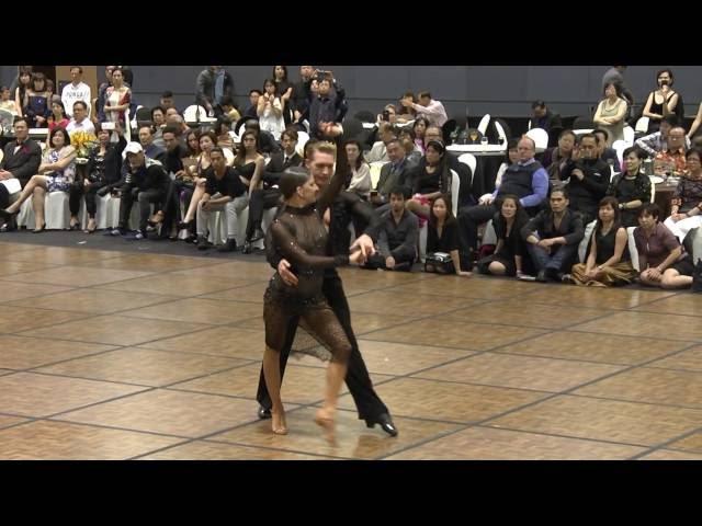 Latin Rumba show by Troels Bager & Ina Jeliazkova (International)