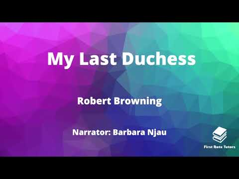 """""""My Last Duchess"""" by Robert Browning: IGCSE Analysis & Annotations! 