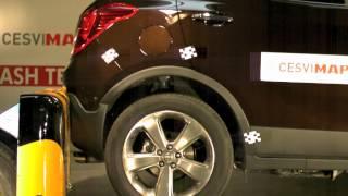 Crash Test Trasero Opel Mokka en CESVIMAP