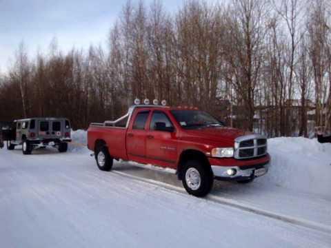 Hummer vs. Dodge Ram
