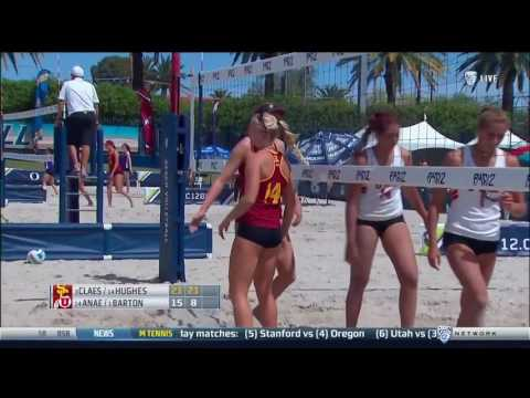 Beach Volleyball: USC 5, Utah 0 - Highlights 4/27/17