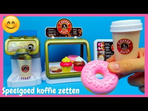 Speelgoed keuken Coffee Shop ☕speelset | Family Toys Collector