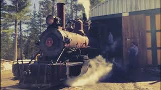 Bridgton and Saco River 7 - First Steam-up