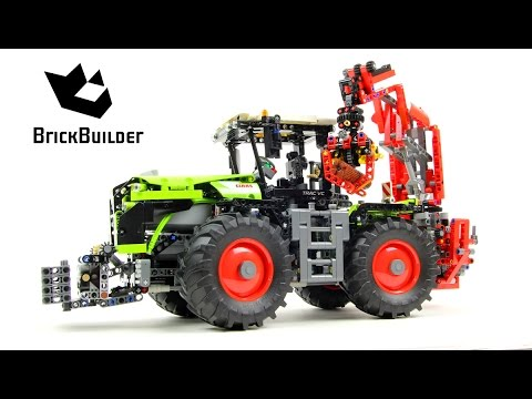 Lego Technic 42054 CLAAS XERION 5000 TRAC VC - Lego Speed build (видео)