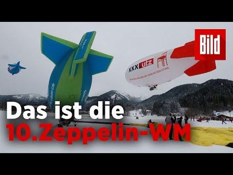 Zehnte Zeppelin-WM am Tegernsee – Neun Piloten aus  ...