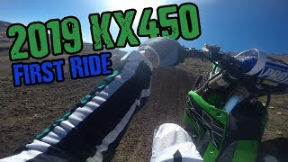 4. 2019 Kawasaki KX450 First Ride and Impressions! | Thunder Valley Motocross