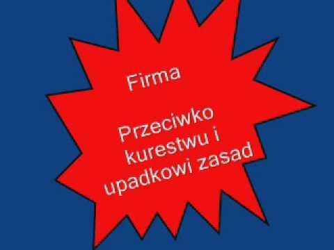 Video Firma - Przeciwko kurestwu i upadkowi zasad Ft. Hemp Gru download in MP3, 3GP, MP4, WEBM, AVI, FLV January 2017