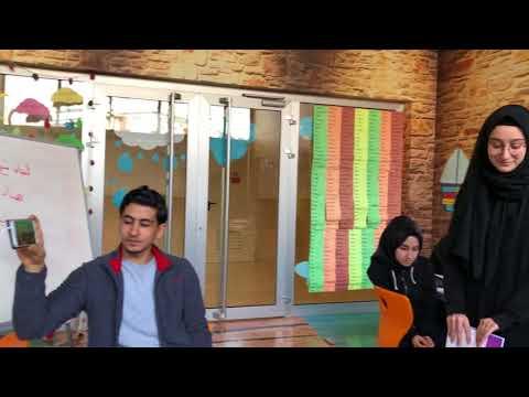 """برنامج """" لقاء خاص """" الحلقة الأولى مع المرابطةِ المَقدسيَّة """" هنادي حلواني """"… مع طالباتٍ تركيات"""