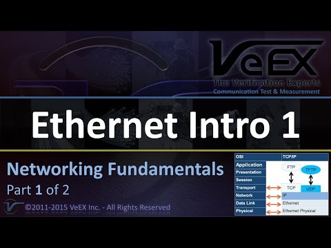Ethernet Networking Fundamentals (Part 1 of 2)