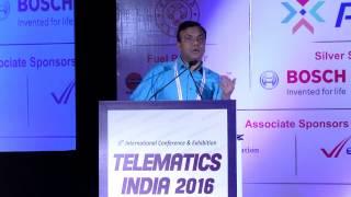 Shri Rajender Kataria, IAS, Managing Director, KSRTC - Telematics India 2016