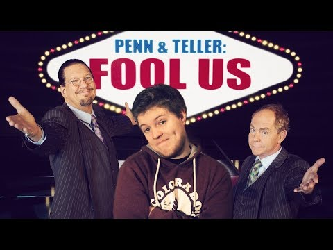 Magier reagiert live auf Penn and Teller Fool Us Episode 10, Staffel 4 (видео)