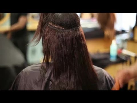 How To Keep Hair Extensions Frizz-Free : Hair Extensions & Hair Loss