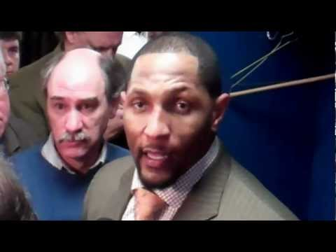 Ray Lewis Talks About Joe Flacco And Billy Cundiff