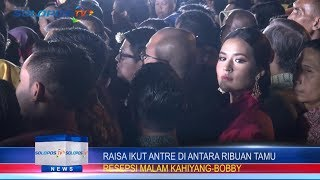 Video JOKOWI MANTU: Raisa Datangi Resepsi Kenakan Gaun Merah MP3, 3GP, MP4, WEBM, AVI, FLV November 2017