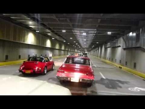 Recorrido Inaugural Desfile Carros Antiguos Inaugurada Del Túnel De La Avenida Colombia de Cali 2013