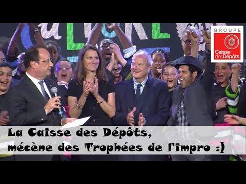 Trophées de l'impro : François Hollande et Jamel Debouzze au rendez-vous !