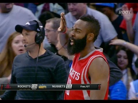 James Harden takes over late to beat Nuggets in Denver