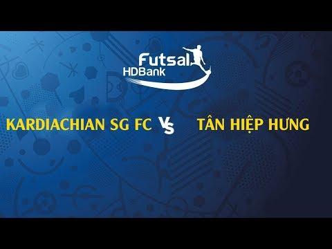 TRỰC TIẾP | KARDICHAIN SG FC - TÂN HIỆP HƯNG | VCK GIẢI VĐQG FUTSAL HD BANK 2019 - Thời lượng: 1 giờ và 39 phút.