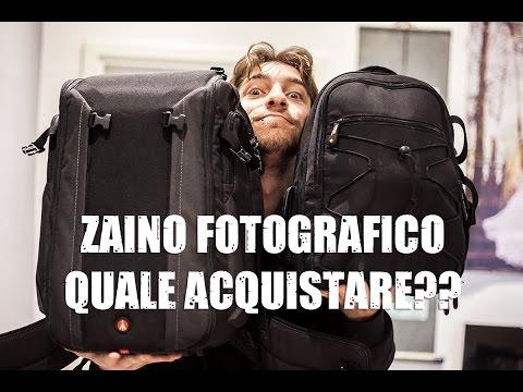 ZAINO FOTOGRAFICO: Quale acquistare??