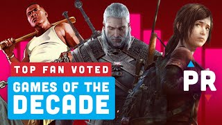 Revealed: Your Favorite Games of the Decade - Power Ranking by IGN