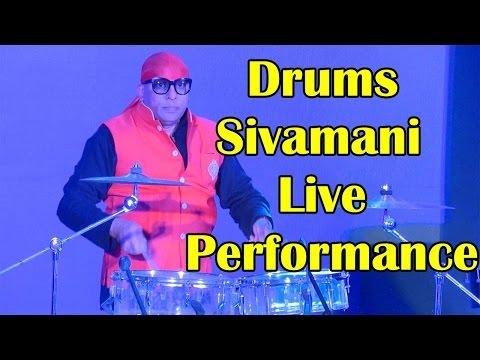 Drums Sivamani Live Performance -  ..